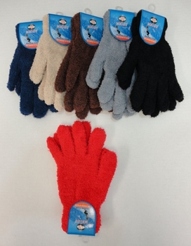 Wholesale Suppliers Wholesalers, Products - WN696. Ladies Chenille Gloves