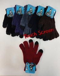 Wholesale Suppliers Wholesalers, Products - WN698. Ladies Chenille Touch Screen Gloves