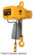 Harrington NER 1 ton, 3-phase hoist