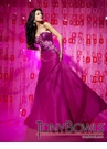 Drop Waist Fuchsia Prom Dress 112524 by Tony Bowls