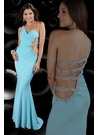2012 One-shoulder Sparkle Prom Dress 71040