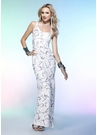 One Shoulder Sequin Scala Prom Dress 1033