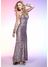 Glam Sequin Scala Prom Dress4102