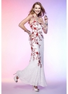 Scala Floral Sequin Prom Dress 4127