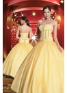Yellow Princess Ball Gown 70113
