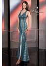 Alyce Sequin Prom Dress 35546