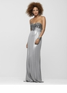 Liquid Metal Evening Gown 2169
