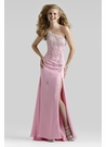 One Shoulder Prom Dress 2105 - 4 Colors Available!