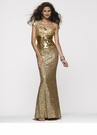Oscar Gold Prom Dress 2117