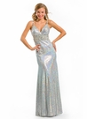 Holographic Party Time Prom Dress 6032