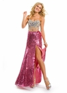 Fun Pink Party Time Prom Dress 6010