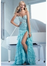 Ruffle Mermaid Terani Gown 1572