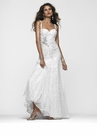 Long White Sequin Prom Dress 2101