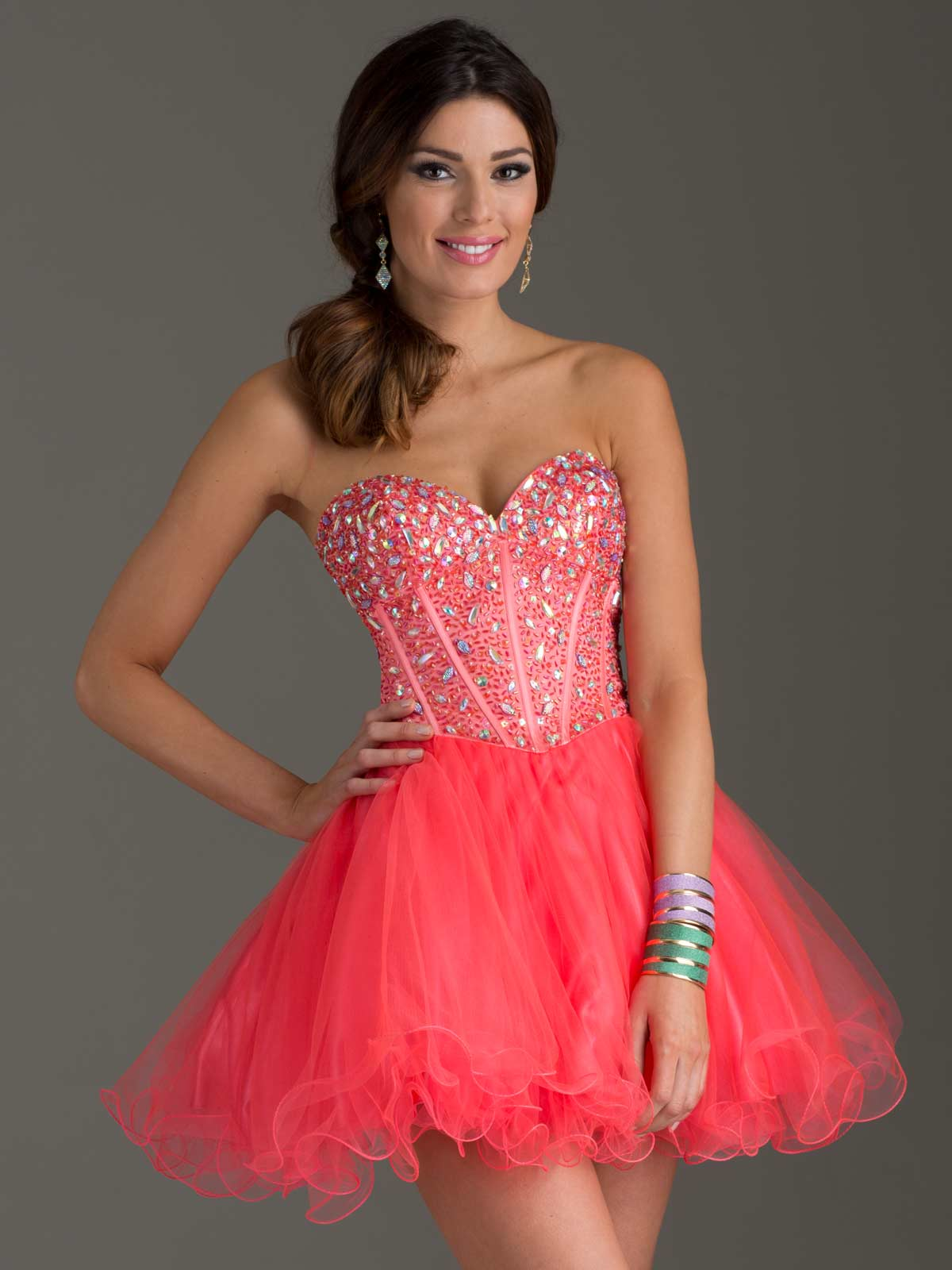 Clarisse 2014 Short Homecoming Dress 2461 Promgirl Net