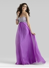 Purple Empire Prom Dress 2306