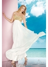 Alyce Ivory Prom Gown 35577