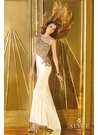 Alyce One Shoulder Prom Gown 6190