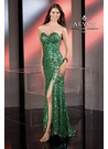 Apple Green Alyce 2013 Prom Gown 35548
