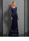 Atelier Clarisse Long Sleeve Special Occasion Dress 6333