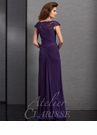 Atelier Clarisse Purple Special Occasion Dress 6318