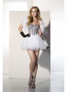 BDazzle Prom Dress 35475 in White