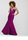 Ruched Halter Prom Dress 2139