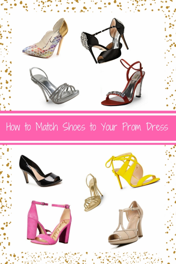 b5579197c1b Choosing your shoes to match prom dresses