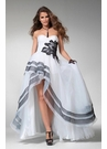 Dramatic High Low Prom Dress 1504