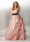 Sculptural Floral Ball Gown 17139