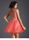 Lace Open Back Homecoming Dress 2650