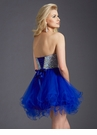 Strapless Homecoming Dress 2651