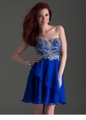 Strapless A-line Homecoming Dress 2659