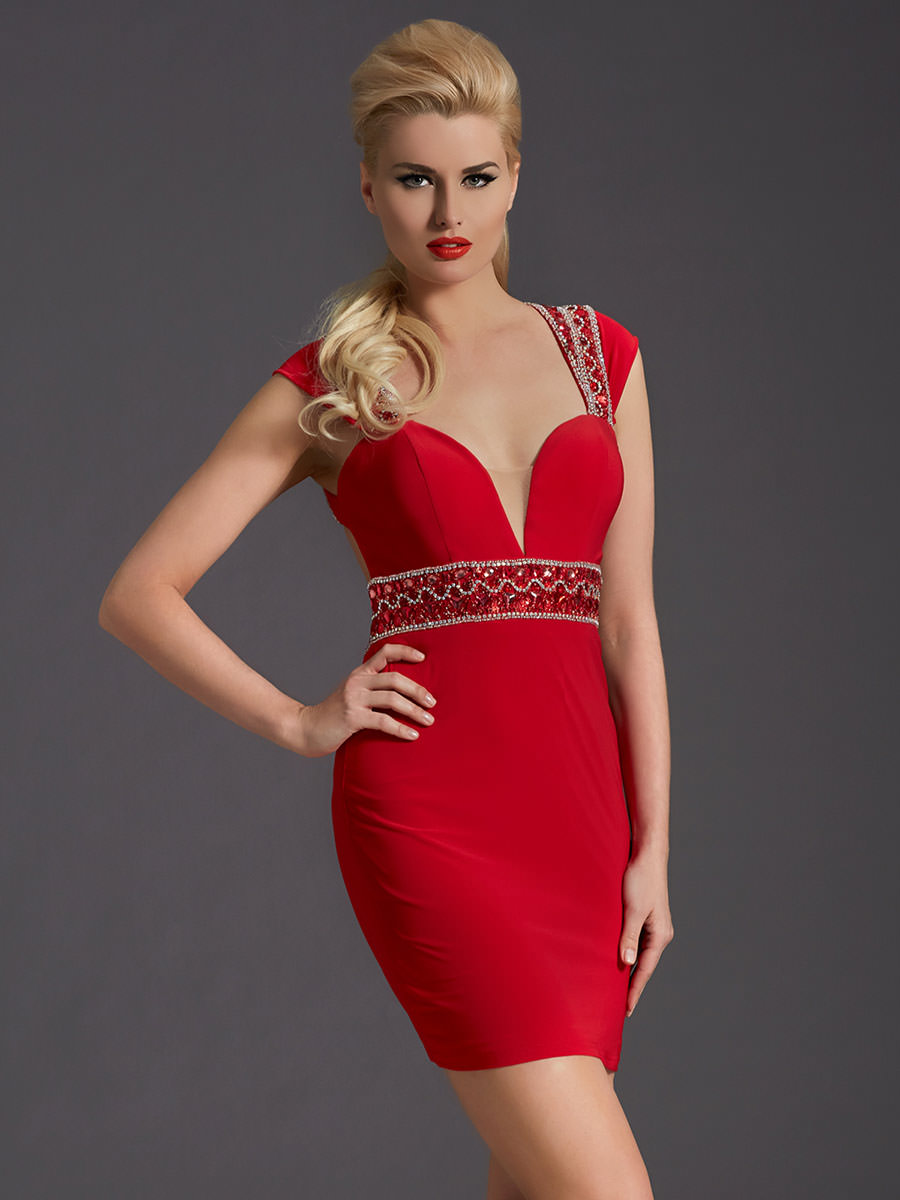 Clarisse 2678 Cocktail Dress | Promgirl.net
