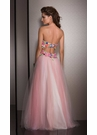 Strapless Floral Ball Gown 2531