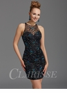 Clarisse Beaded Cocktail Dress 2937