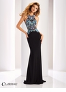 Clarisse Beaded Racer Back Prom Dress 4848