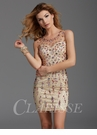 Clarisse Bejeweled Cocktail Dress 2914
