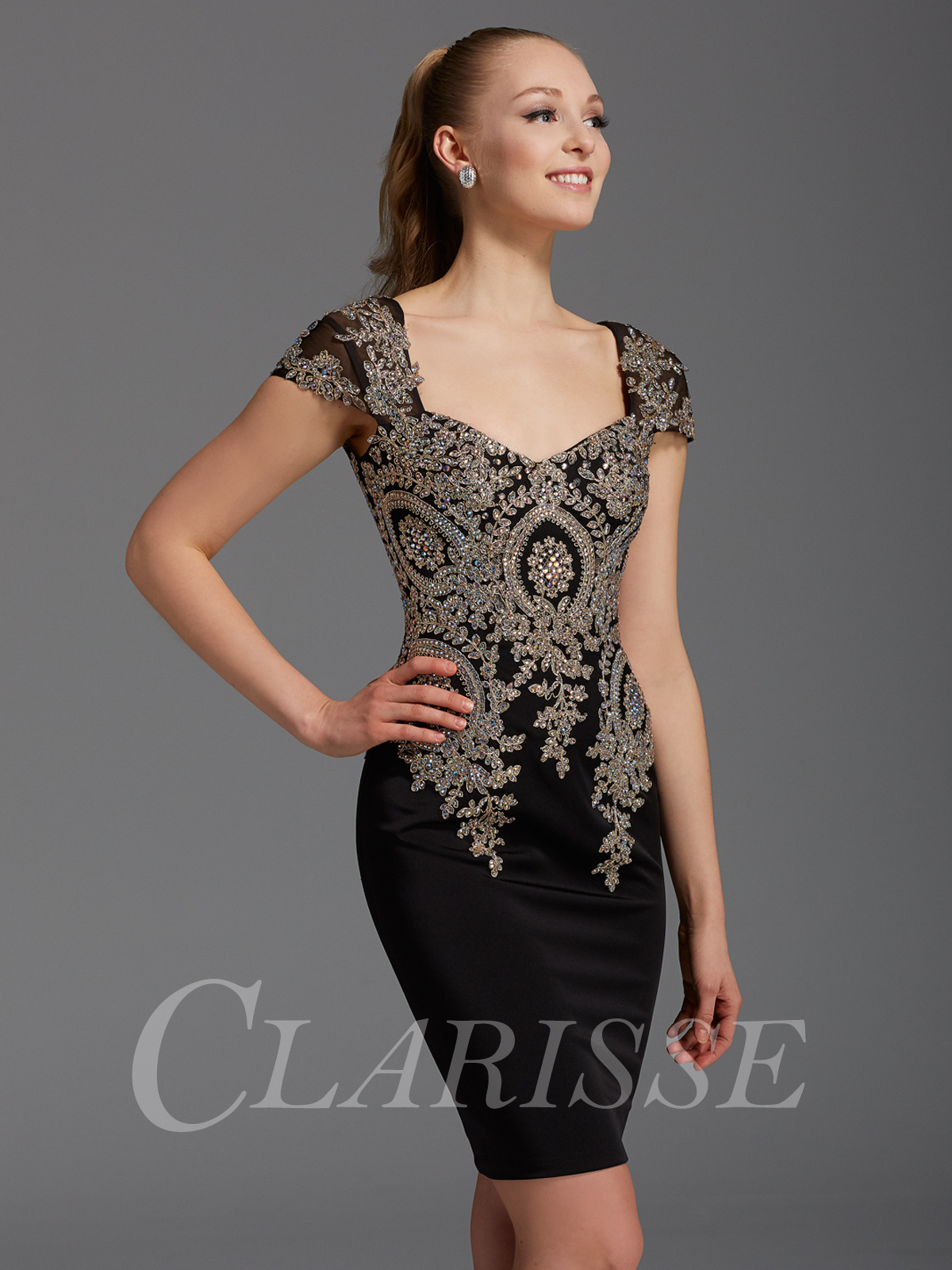 Clarisse Cocktail Dress 2942 | Promgirl.net
