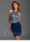 Clarisse Blue Two Piece Dress 2935