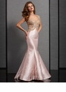 Clarisse Blush Mermaid Special Occasion Dress 6303