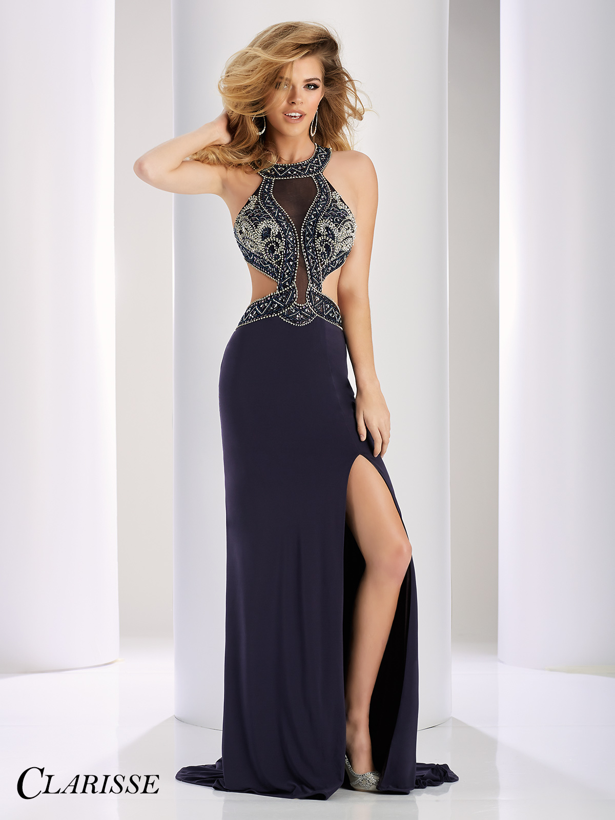 Silver Prom Dresses and Silver Formal Gowns | Promgirl.net
