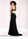 Clarisse Chic Cut Out Back Prom Dress 3106
