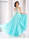 Clarisse Color Block A-line Prom Dress 3069