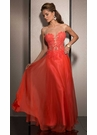 Coral A-line Prom Dress 2529