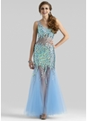 Clarisse Couture Blue Dress 4317