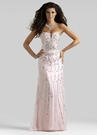 Pink Strapless Couture Dress 4307