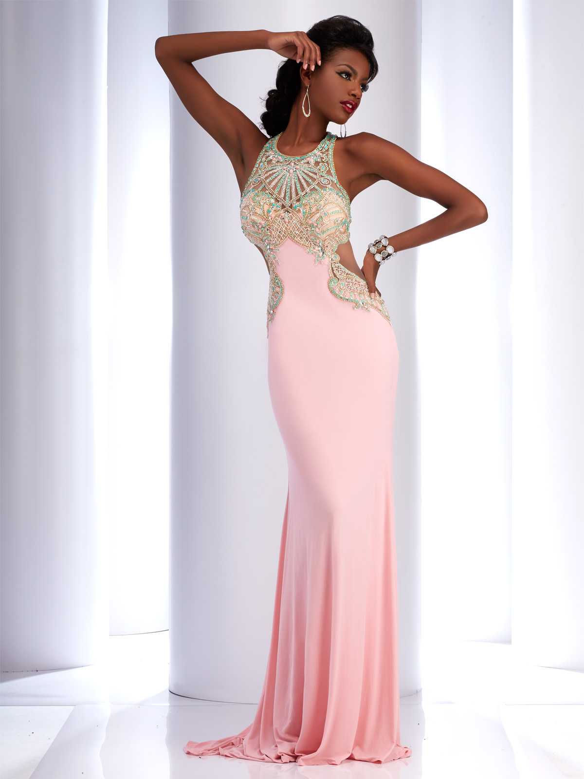 Clarisse 4738 Couture Dress | Promgirl.net