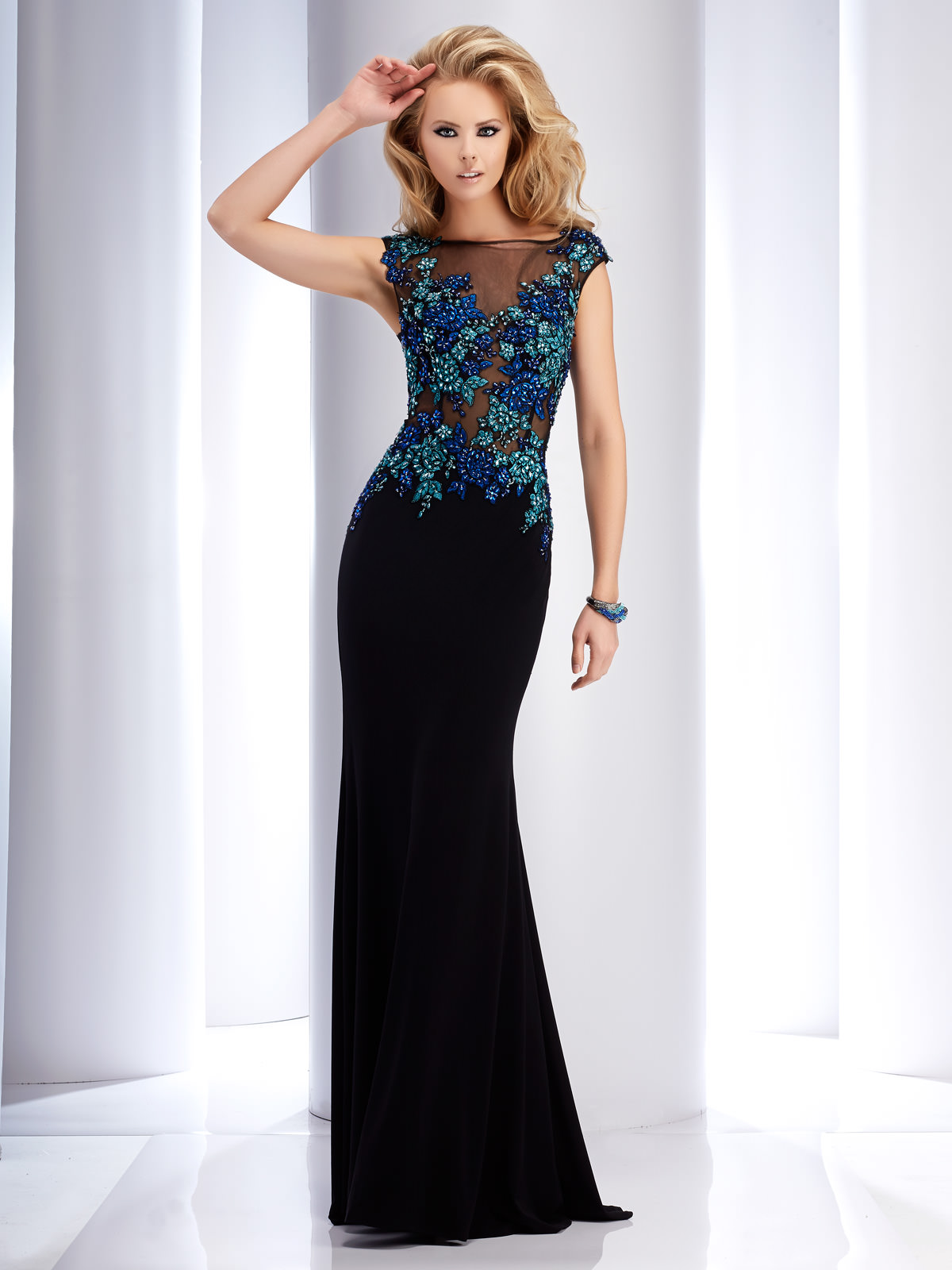 Clarisse 4749 Couture Dress Promgirl Net