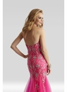Fuchsia Couture Prom Gown 4302