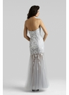 Silver Couture Prom Gown 4306